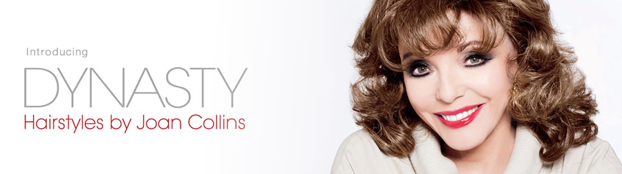 Introducing the Joan Collins Dynasty Wig Collection